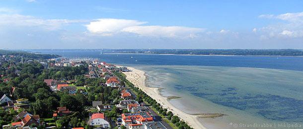 kieler bucht karte Karte Kieler Bucht, Routenplaner Kieler Bucht für Ostseeurlaub mit
