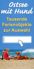 Ferienhäuser und Ferienwohnungen für Urlaub mit Hund an der Ostsee